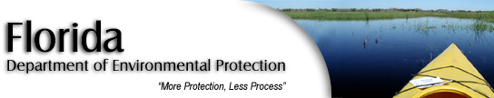 Department of Evironmental Protection Banner